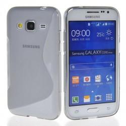 Coque Silicone transparente pour Samsung Galaxy Core Prime