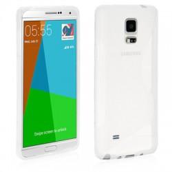 Coque Silicone transparente Samsung Note 4