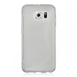 Coque Silicone transparente Samsung S6