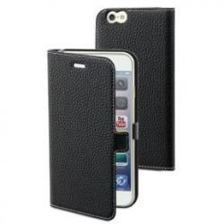 Etui folio noir pour Apple iPhone 6/6S