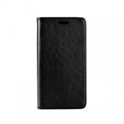 Etui folio noir pour Samsung Galaxy A8 (2018)