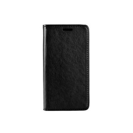 Etui folio noir pour Samsung A8 2018