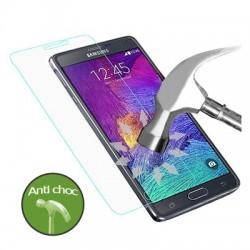 Vitre verre trempé Samsung Note 4