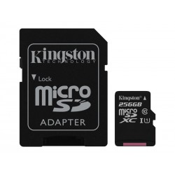 Carte mémoire Micro SD HC 256 GB