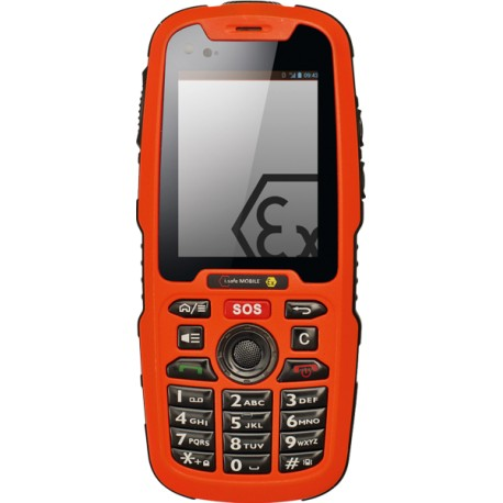 Téléphone GSM 3G IP68 ATEX Zone 1/21