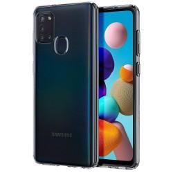 Coque Spigen Liquid Crystal pour Samsung Galaxy A21s