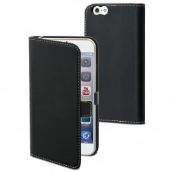 Etui folio noir pour Apple iPhone 6+/6S+
