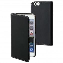 Etui folio noir pour Apple iPhone 6+/6S+