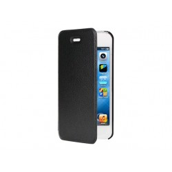 Etui folio noir pour Apple iPhone 5/5S