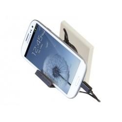 Chargeur secteur 1 USB 1A + câble plat micro USB