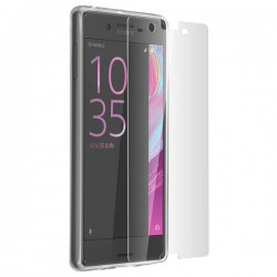 Pack Sony Xperia X film + coque