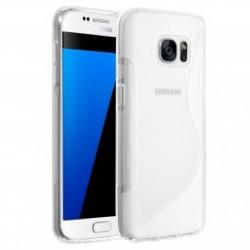 Coque Silicone transparente Samsung S7 Edge
