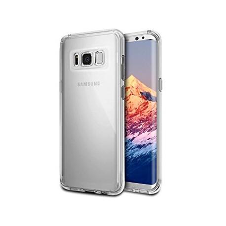 Coque Silicone transparente Samsung S8+