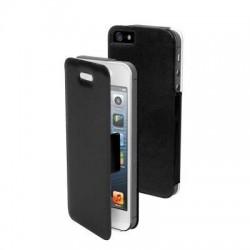 Etui folio noir pour Apple iPhone 5/5S/SE